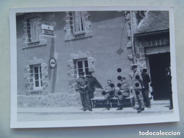 PUESTO DE LA POLICIA ARMADA EN LA FRONTERA . AÑOS 60. (Fotografía Antigua - Fotomecánica)