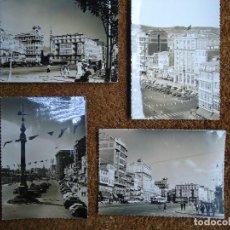 Fotografía antigua: 4 POSTALES DE LA CORUÑA EDITADAS POR ARTIGOT 1960 MUY RARAS. Lote 97793811