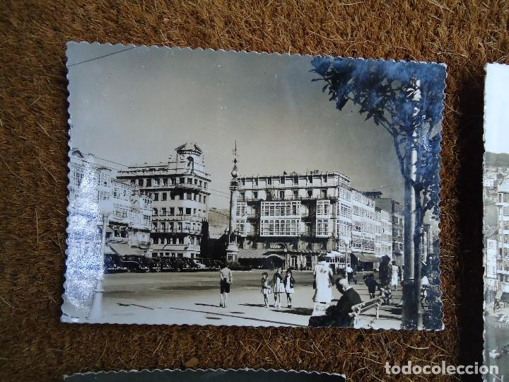 Fotografía antigua: 4 POSTALES DE LA CORUÑA EDITADAS POR ARTIGOT 1960 MUY RARAS - Foto 2 - 97793811