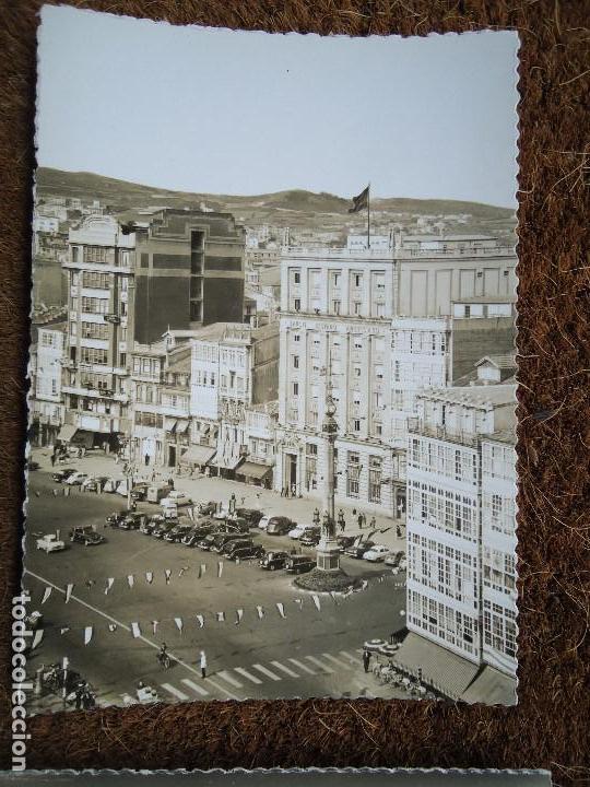 Fotografía antigua: 4 POSTALES DE LA CORUÑA EDITADAS POR ARTIGOT 1960 MUY RARAS - Foto 3 - 97793811