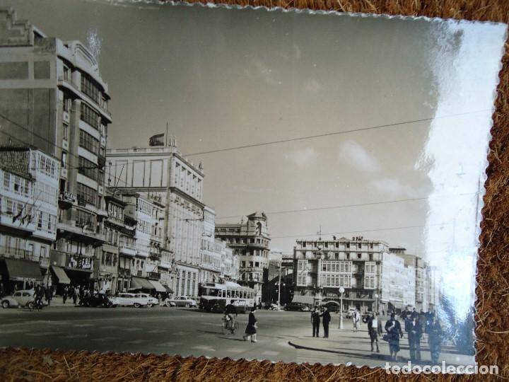 Fotografía antigua: 4 POSTALES DE LA CORUÑA EDITADAS POR ARTIGOT 1960 MUY RARAS - Foto 5 - 97793811