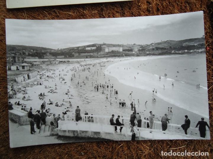 Fotografía antigua: 4 POSTALES DE LA CORUÑA HOTEL ESPAÑA 1960 - Foto 5 - 97796299