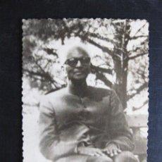 Fotografía antigua: FOTOGRAFÍA NILAKANTA SRI RAM, V PRESIDENTE DE LA SOCIEDAD TEOSÓFICA. ITALIA AGOSTO-SEPTIEMBRE 1961 N. Lote 98381611