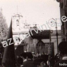 Fotografía antigua: SEMANA SANTA SEVILLA, AÑOS 70, PALIO VIRGEN DE LA VICTORIA, LAS CIGARRERAS, 100X70MM. Lote 98386487