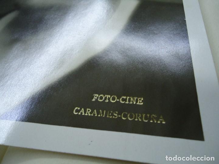 Fotografía antigua: 1950 foto cine CARAMES CORUÑA 24 X 18Cm. - Foto 2 - 98389715
