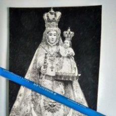 Fotografía antigua: POZOBLANCO. CÓRDOBA. ANTIGUA FOTO POSTAL DE NUESTRA SEÑORA DE LUNA PATRONA DE POZOBLANCO. Lote 98499915