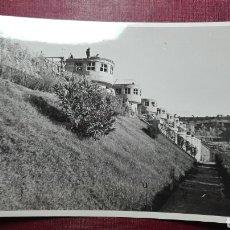 Fotografía antigua: PRESA DE UN PANTANO INAGURADO POR FRANCISCO FRANCO EN 1950.. Lote 98507180
