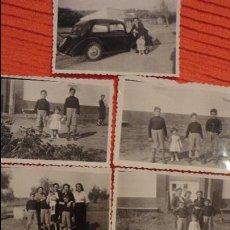Fotografía antigua: CONJUNTO DE 7 FOTOGRAFIAS FAMILIARES.CORTIJO LA NAVA.CARMONA.SEVILLA.1954. Lote 98512455