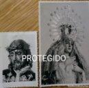 Fotografía antigua: LA BAÑEZA, LEON. DOS ANTIGUAS FOTOS VIRGEN DE LA AMARGURA Y NTRO PADRE JESÚS NAZARENO. Lote 98513795
