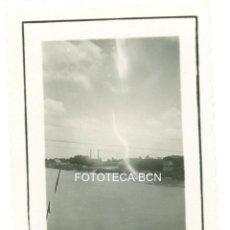 Fotografía antigua: FOTO ORIGINAL TORTOSA RIO EBRO - JUNIO DE 1935. Lote 98545463