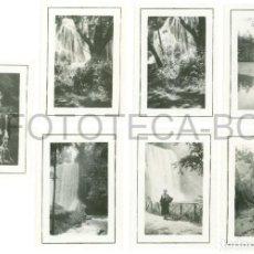 Fotografía antigua: LOTE 7 FOTOS ORGINALES MONASTERIO DE PIEDRA PROVINCIA ZARAGOZA ARAGON - JUNIO DE 1935. Lote 98548143