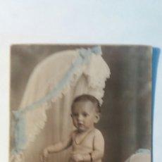 Fotografía antigua: FOTO COLOREADA ANTIGUA. J.DERREY 1921. Lote 98635439