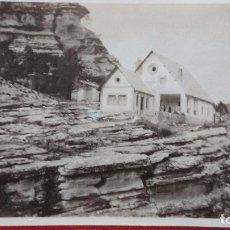 Fotografia antiga: ANTIGUA FOTOGRAFIA.CASETA FORESTAL.PAJARONCILLO.CUENCA.1934. Lote 98650971
