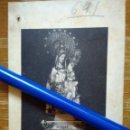 Fotografía antigua: RONCESVALLES - ORREAGA (NAVARRA). ANTIGUA FOTO DE NTRA. SRA. DE RONCESVALLES. Lote 98879227