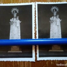 Fotografía antigua: HECHO (HUESCA).2 FOTOS ANTIGUAS DE NTRA. SRA. DE ESCABINES. Lote 98933703