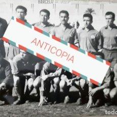 Fotografía antigua: ANTIGUA FOTOGRAFIA DEL EQUIPO DE FÚTBOL DE MONOVAR ALICANTE . Lote 99906663