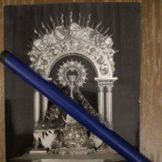 Fotografía antigua: ANTIQUÍSIMA FOTO DE NTRA. SRA. BIEN APARECIDA PATRONA DE LA MONTAÑA. SANTANDER. Lote 100137291