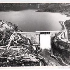 Fotografía antigua: ANTIGUA FOTO DEL EMBALSE DE ENTREPEÑAS, RÍO TAJO, GUADALAJARA - 1968 - COPIA VINTAGE. Lote 100175387