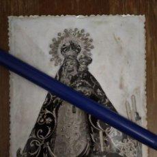 Fotografia antica: TORREDONJIMENO JAÉN ANTIGUA FOTO DE NTRA. SRA. DE LA CONSOLACIÓN PATRONA DE LA VILLA.. Lote 100244239