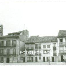 Fotografía antigua: FOTO ORIGINAL HONDARRIBIA FUENTARRABIA PLAZA DE ARMAS AÑO 1961. Lote 100308311