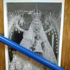 Fotografía antigua: ANTIGUA FOTOGRAFÍA DE NTRA. SR. DEL PRADO. CIUDAD REAL. Lote 100325451