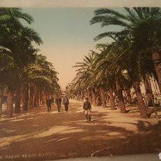 Fotografía antigua: FOTO ANTIGUA DE ALICANTE, PASEO DE LOS MÁRTIRES.. Lote 100459808