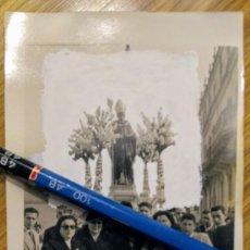 Fotografía antigua: CASTUERA BADAJOZ ANTIGUA FOTO PROCESIÓN SAN BENITO ABAD. Lote 194617172