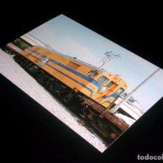 Fotografía antigua: FOTOGRAFÍA ORIGINAL LOCOMOTORA ALCO 1600-2 *VIAS* EX-RENFE, ALTAFULLA 12 JULIO 1995. TAMAÑO 10 X 15.. Lote 101132919