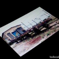 Fotografía antigua: FOTOGRAFÍA ORIGINAL VAGONES RN, FUENTE SAN LUIS VALENCIA 30-V-1992. TAMAÑO 10 X 15.. Lote 101136219