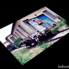 Fotografía antigua: FOTOGRAFÍA ORIGINAL VAGÓN CON GARITA RN, FUENTE SAN LUIS VALENCIA 30-V-1992. TAMAÑO 10 X 15.. Lote 101136415