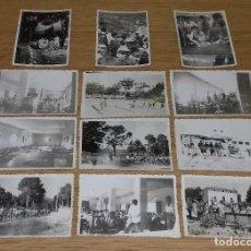 Fotografía antigua: 12 FOTOGRAFIAS ONTENIENTE FOTOGRAFIA CORAL AFICIONADOS.. Lote 101247015