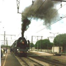 Fotografía antigua: LOCOMOTORA. FRANCIA, MAYO 1993. Lote 101636395