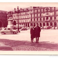 Fotografía antigua: FOGRAFÍA DE LA PLAZA MAYOR DE MADRID 1964. DOMINGO DE RESURRECIÓN 10,5 X 7,5 CM. Lote 101940535