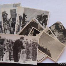 Fotografía antigua: CURIOSO LOTE 15 FOTOS TENERIFE CARNAVAL Y VISTAS. Lote 102429555
