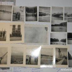 Fotografía antigua: LOTE DE 18 FOTOS DE PARIS AÑOS 60. Lote 102484127