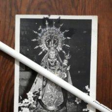 Fotografía antigua: ANTIGUA FOTOGRAFIA DE NUESTRA SEÑORA DE CUADROS PATRONA DE BEDMAR JAEN. Lote 102555199