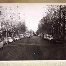 Fotografía antigua: FOTOGRAFIA ANTIGUA, CALLE DE VALENCIA, 1960S. Lote 102593867