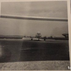 Fotografía antigua: ANTIGUA FOTOGRAFIA.AEROPUERTO DE BARAJAS.MADRID AÑOS 50. Lote 102743711