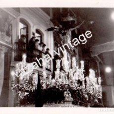 Fotografía antigua: SEMANA SANTA SEVILLA, ANTIGUA FOTOGRAFIA CRISTO DEL AMOR, 105X75MM. Lote 102821771