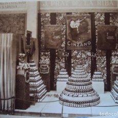 Fotografía antigua: (FOT-171105)FOTOGRAFICA ESTAND CINZANO - JOSEFA PRAT DE LA RIBA. Lote 103072579