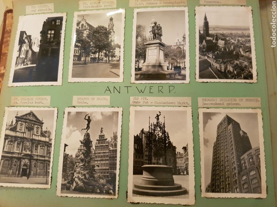 ANTWERP, BÉLGICA, INTERESANTE REPORTAJE FOTOGRAFICO, AÑOS 40, F. DETALLE LUGAR (Fotografía Antigua - Fotomecánica)