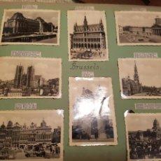 Fotografía antigua: BRUSELAS INTERESANTE REPORTAJE FOTOGRAFICO, AÑOS 40, . DETALLE LUGAR. Lote 103331796