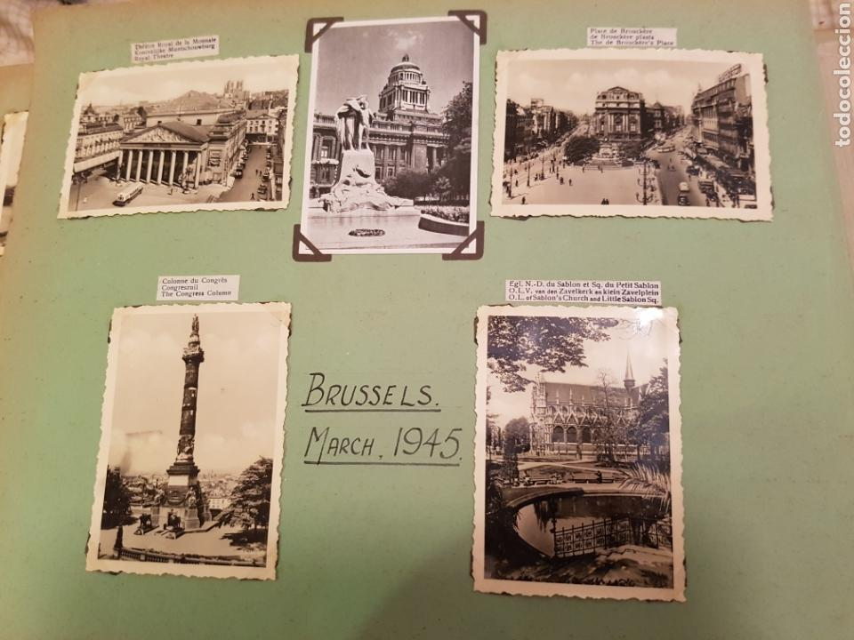 Fotografía antigua: Bruselas INTERESANTE REPORTAJE FOTOGRAFICO, AÑOS 40, . DETALLE LUGAR - Foto 3 - 103331796
