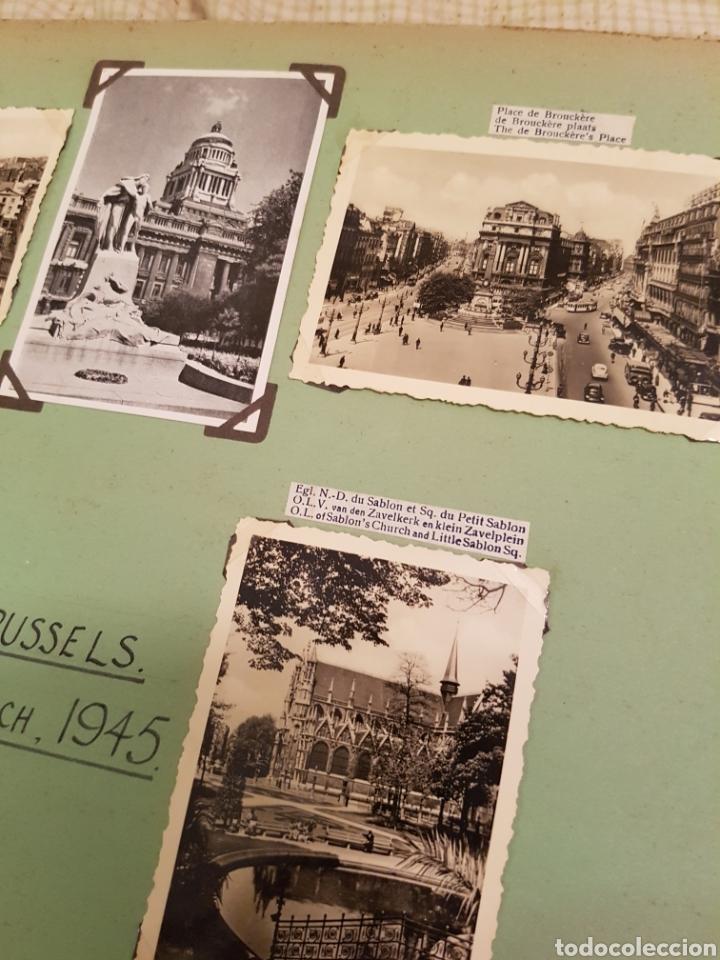 Fotografía antigua: Bruselas INTERESANTE REPORTAJE FOTOGRAFICO, AÑOS 40, . DETALLE LUGAR - Foto 4 - 103331796