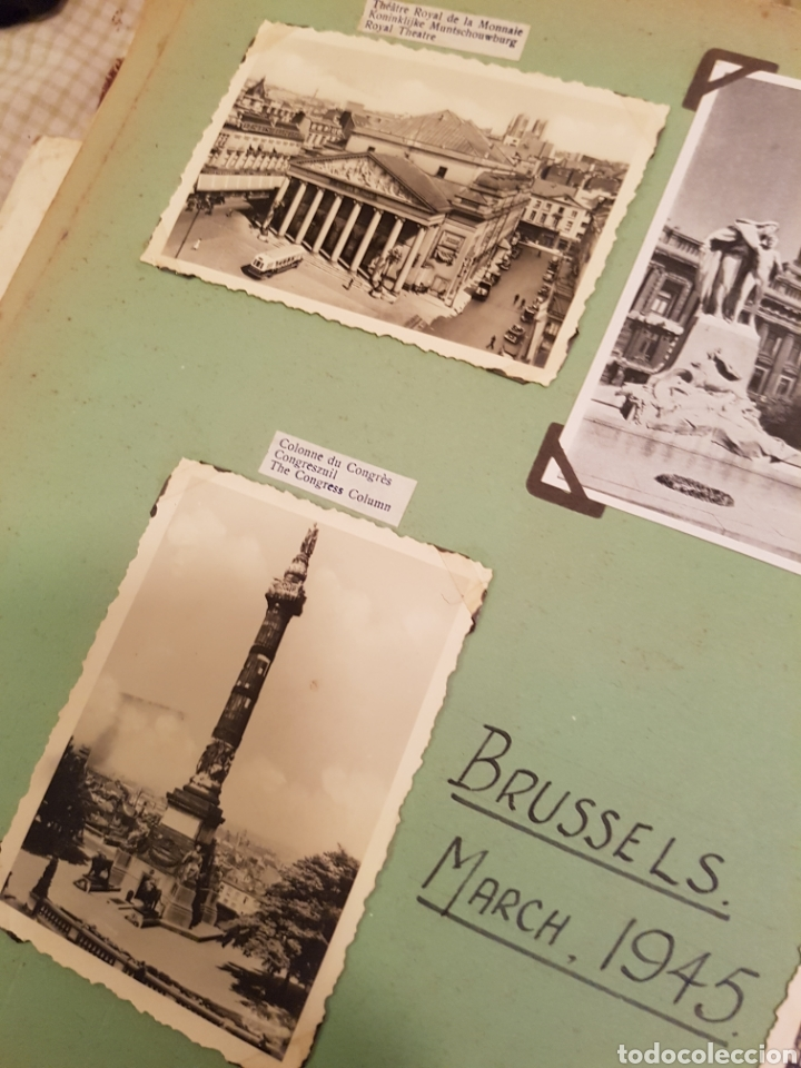 Fotografía antigua: Bruselas INTERESANTE REPORTAJE FOTOGRAFICO, AÑOS 40, . DETALLE LUGAR - Foto 5 - 103331796