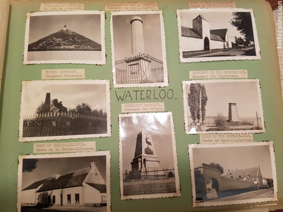 WATERLOO, BELGICA, INTERESANTE REPORTAJE FOTOGRAFICO, AÑOS 40, . DETALLE LUGAR (Fotografía Antigua - Fotomecánica)