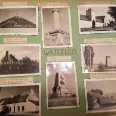 Fotografía antigua: WATERLOO, BELGICA, INTERESANTE REPORTAJE FOTOGRAFICO, AÑOS 40, . DETALLE LUGAR. Lote 103332816