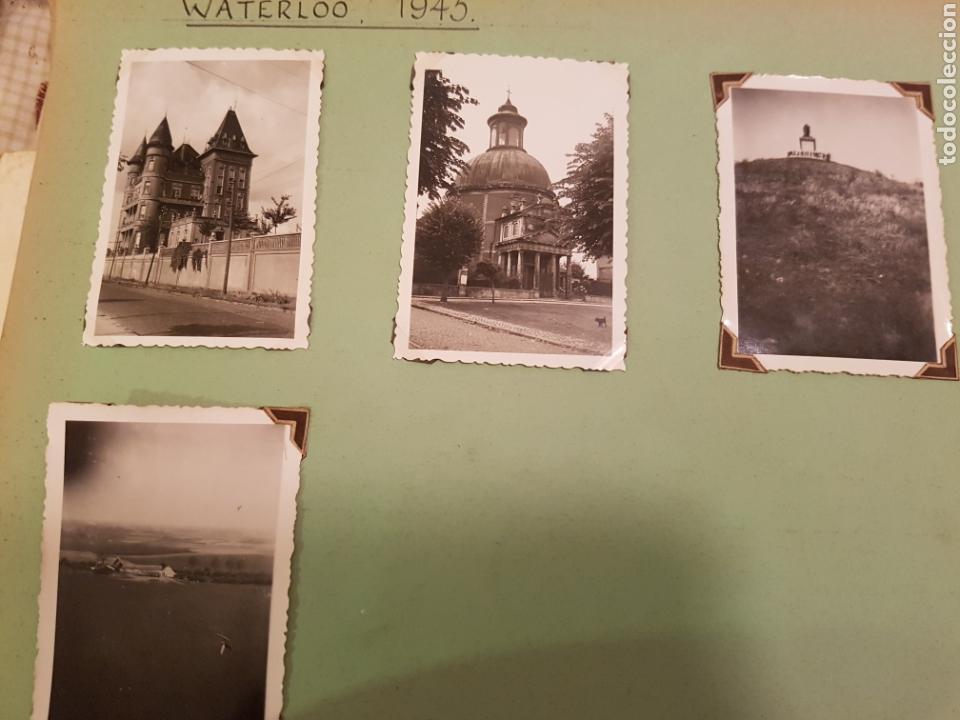 Fotografía antigua: WATERLOO, BELGICA, INTERESANTE REPORTAJE FOTOGRAFICO, AÑOS 40, . DETALLE LUGAR - Foto 2 - 103332816