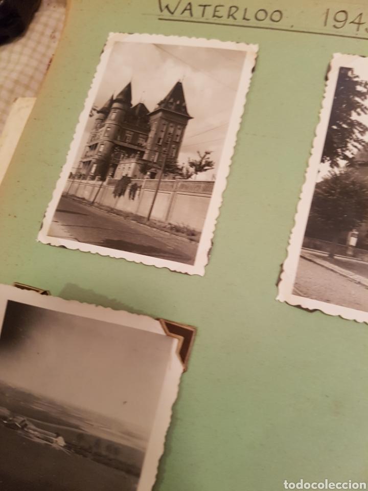 Fotografía antigua: WATERLOO, BELGICA, INTERESANTE REPORTAJE FOTOGRAFICO, AÑOS 40, . DETALLE LUGAR - Foto 3 - 103332816