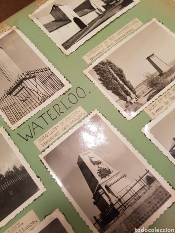 Fotografía antigua: WATERLOO, BELGICA, INTERESANTE REPORTAJE FOTOGRAFICO, AÑOS 40, . DETALLE LUGAR - Foto 6 - 103332816